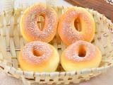 厂家直销 批发假蛋糕PU面包椰丝大甜甜圈 超好手感 摄影装饰