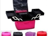 专业化妆箱/化妆包/化妆盒 大容量双开多层可手拎 专业化妆师推荐