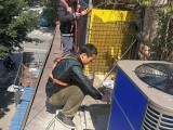 西安中央空调的维修加氟保养清洗修理联系是多少