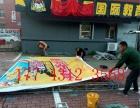 长春展会背景板桁架搭建签到板背景喷绘制作展板制作优