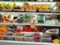 转让水果风幕柜,收银机,LED显示屏,收银台