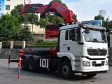 25吨折臂随车吊多少钱 陕汽牵引头随车吊价格