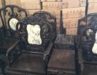 越南进口红木勾椅3件套老物件越柬紫檀花梨木老料老家具镶嵌彩贝