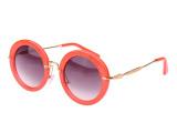 miu同款 圆形 时尚太阳镜 眼镜 墨镜  厂家直销 优质 太阳