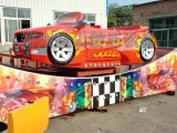 弯月飞车价格 金山游乐 大型轨道类游乐设施生产厂家