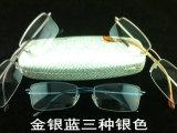 清仓处理100%纯钛男女近视眼镜框架 新款时尚 外贸尾单半框镜架