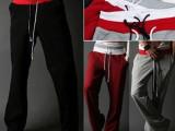 夏装新款韩版潮流男式运动裤男长裤 休闲裤男 男款大码宽松卫裤