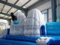 移动水上乐园 水上充气游乐设施 支架水池 儿童戏水乐园