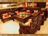 红木家具非洲红酸枝木沙发茶几 六合同春客厅沙发组合实木SF008
