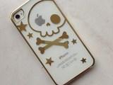 苹果iPhone5s  骷髅头 创意镭雕丘比特手机壳 苹果5S手