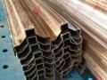 莫戈金属真空电镀304玫瑰金不锈钢门框线条剪板折弯加工