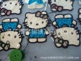双色珠片,绳绣面料绣花。可绣在化纤布,网布,棉布,针织布上.