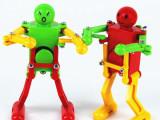 实色上链机器人 发条跳舞会摆动机器人 跳舞机器人 上链玩具