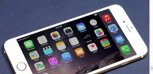 转让苹果6PLUS土豪金8.1系统国行全网通16G