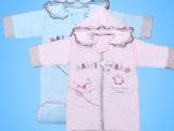 婴儿秋冬睡袋珊瑚绒儿童防踢被可脱卸帽带袖宝宝加厚空调被新生儿