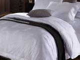 厂家批发 宾馆酒店床上用品布草全棉白色提花酒店四件套纯棉被套