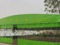 大型帐篷遮阳篷伸缩篷活动仓库帐篷折叠雨蓬移动停车棚