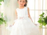 妞宝童装 儿童公主裙表演服 舞台演出服 蓬蓬舞蹈服饰 厂家直销