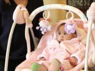 宝宝长大了,转让婴儿床和高级电动摇椅,,送自买小床棕垫