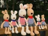 日本同步发售海军装情侣太子兔/砂糖兔毛绒公仔圣诞节礼物送女友