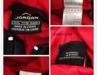 JORDAN油面压光格子连帽棉衣/棉服 两件