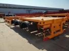 丽江40英尺  48英尺集装箱骨架半挂车专卖货车厂家1年5万公里面议