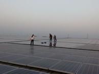 淮北速净专业 太阳能发电板清洗 贴玻璃纸 清洗地毯