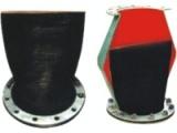供应瑞通法兰式橡胶排污止回阀质量有保证 价格优惠 欢迎选购