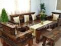 阜阳万达船木茶桌批发古船木家具实木茶台茶桌椅组合