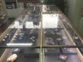 高档珠宝柜台。九成新