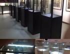 简易玻璃展柜展示柜 古玩玉器陶瓷展示架 茶叶红酒展示柜