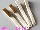 广州毛刷厂 小号核桃刷 鬃毛刷 猪毛刷 植毛加工 文玩工具刷