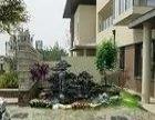 南沙区专业建造假山鱼池喷泉水景楼顶天台花园景观设计