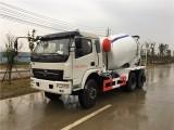 厂家直销小型水泥罐车,5方6方7方混凝土搅拌车便宜