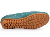 大码真皮妈妈鞋平底牛筋底防滑透气洞洞款女凉鞋孕妇鞋码
