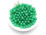 厂家直销 正品天然AAA绿玛瑙散珠 DIY饰品串珠半成品配件