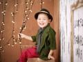 通州宝宝艺术照,超值团购598高档水晶相册赠送亲子照