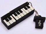 厂家批发卡通钢琴U盘个性创意商务电子琴PVC优盘各种乐器USB特