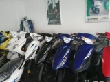 二手摩托车市场 专卖各款男女装摩托 有发票 款式多可现场挑选 现场试车 满意帮送