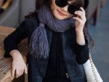 YLT童装批发 2014秋冬新款男女童立领双排扣马甲ys1415