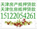 天津贷款办理,天津房屋抵押贷款政策,天津房产抵押贷款