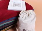 外贸原单出口布袋棉麻围巾纯色文艺范儿空调披肩沙滩男女围巾0163