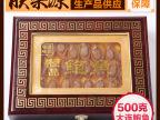 年货大连特产野生特级鲍鱼干 500克一斤装 45-50头 辽贡干货礼盒