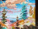 烟台芝罘区哪家画室好想学油画和水彩