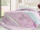 家纺韩版绣花冬被 加厚超细纤维被秋冬化纤磨毛婚庆被子被芯批发