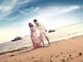 中牟婚纱摄影如何拍出自然放松的婚纱照 七号公馆婚纱摄影