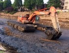 好产品租赁中国徐工200水陆挖掘机租赁水上挖掘机出租