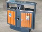 批发新款钢木垃圾桶 户外垃圾桶环保环卫垃圾桶分类垃圾箱果皮箱