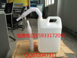 10L小口扁方PE纯原料车用尿素溶液专用包装桶厂家直销