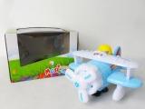 SM电动升降万向带灯光音乐飞机 新奇特较热销电动模型玩具